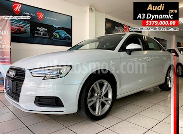 Audi A3 1.4L Dynamic usado (2018) color Blanco precio $379,000