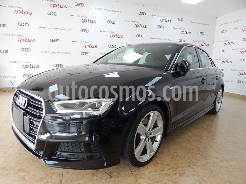 Audi A3 2.0L S-Line  usado (2017) color Negro precio $369,000