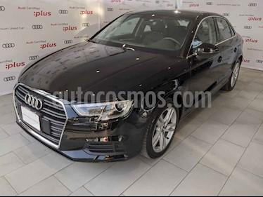 Audi A3 4p Sedan Dynamic L4/1.4/T Aut usado (2019) color Negro precio $395,000