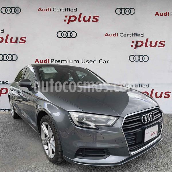 Audi A3 Sedan 2.0L Dynamic Aut usado (2018) color Gris precio $399,000