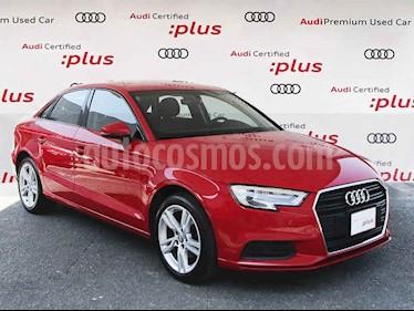 Audi A3 4p Sedan Dynamic L4/1.4/T Aut usado (2018) color Rojo precio $325,000