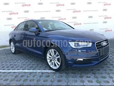 Audi A3 4p Sedan Ambiente L4/1.8/T Aut usado (2016) color Azul precio $288,001