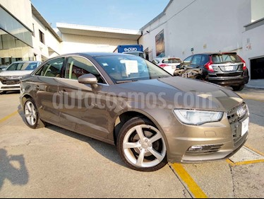 Audi A3 Sedan 1.4L Ambiente Aut usado (2015) color Cafe precio $228,000