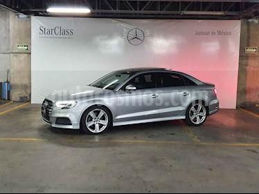 Audi A3 4p Sedan S Line L4/1.8/T Aut usado (2017) color Plata precio $379,000