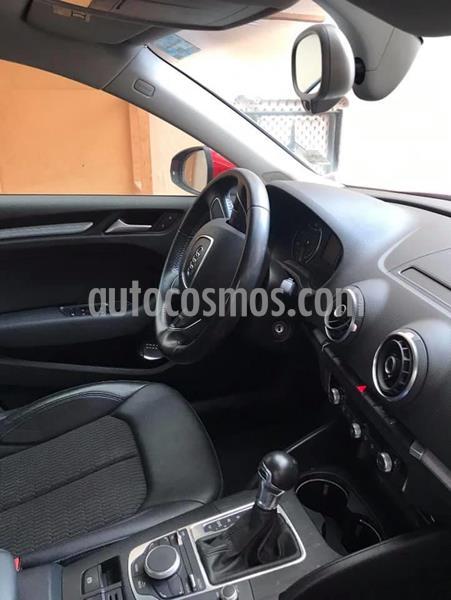 Audi A3 1.4L Attraction Aut usado (2015) color Rojo Bari precio $240,000