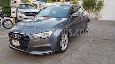 Audi A3 4p Sedan Dynamic L4/1.4/T Aut usado (2017) color Gris precio $298,000