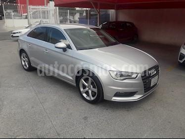 Foto Audi A3 1.8L Attraction Plus Aut usado (2014) color Plata precio $260,000