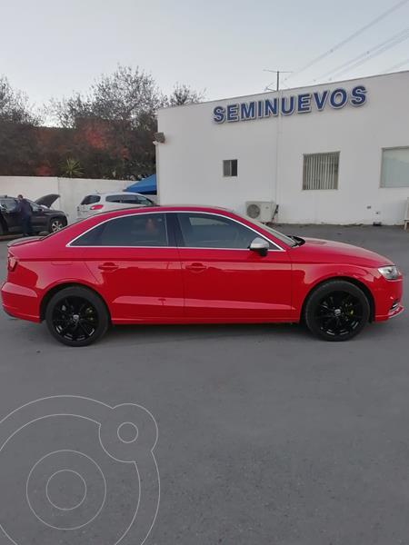 Foto Audi A3 Sedan 1.4L Select Aut usado (2017) color Rojo precio $350,000