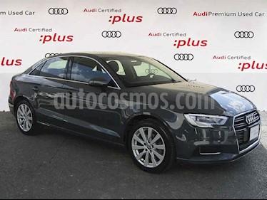 Audi A3 4p Sedan Dynamic L4/1.4/T Aut usado (2018) color Gris precio $325,000