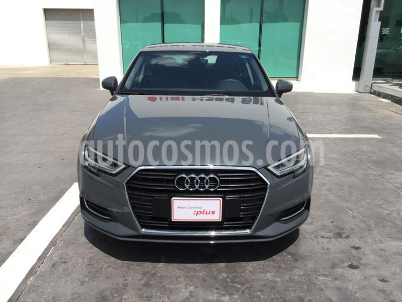 Audi A3 Sedan 1.4L Select Aut usado (2020) color Gris precio $520,516