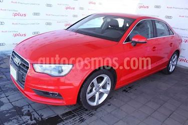 Audi A3 4p Sedan Attration L4/1.4/T Aut usado (2015) color Rojo precio $260,000