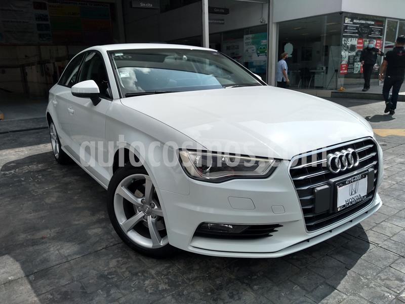 Audi A3 1.8L Ambiente usado (2015) color Blanco precio $255,000