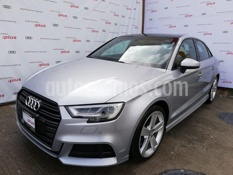 Audi A3 2.0L S-Line  usado (2020) color Plata Dorado precio $600,000