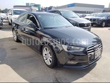 Audi A3 Sedan 1.8L Attraction Plus Aut usado (2016) color Negro precio $299,000