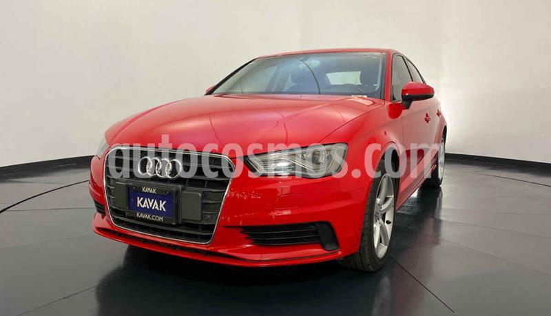 Audi A3 Sedan 1.4L Ambiente Aut usado (2015) color Rojo precio $267,999