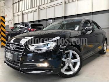 Audi A3 4p Sedan Ambiente L4/1.8/T Aut usado (2016) color Negro precio $290,000