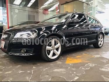 Audi A3 3P AMBIENTE L4/1.8/160/T AUT usado (2010) color Negro precio $145,000