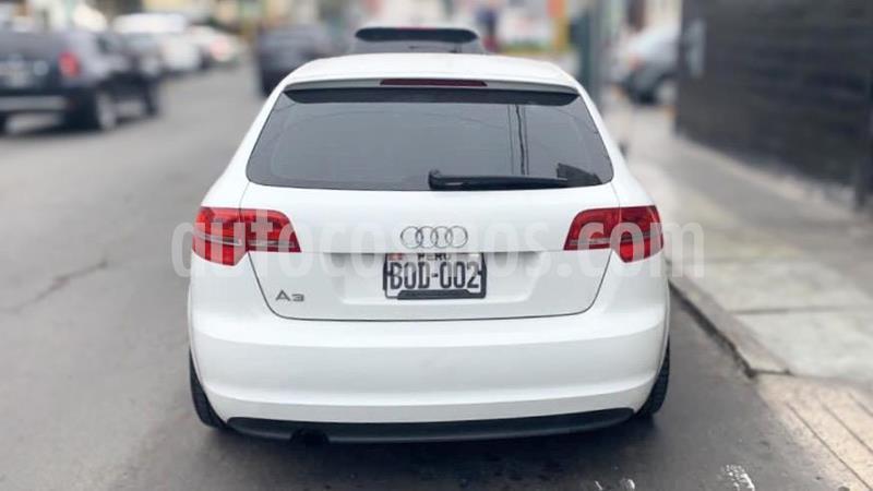 Audi A3 Sportback 1.2 T FSI S-tronic Attraction  usado (2011) color Blanco precio u$s11,000