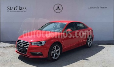 Audi A3 Sedan 1.4L Attraction Aut usado (2016) color Rojo precio $299,900