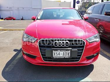 Foto venta Auto usado Audi A3 Sedan 1.8L Ambiente Aut (2016) color Rojo Misano precio $305,000