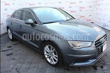Audi A3 Sedan 1.8L Attraction Plus Aut usado (2015) color Gris precio $275,000