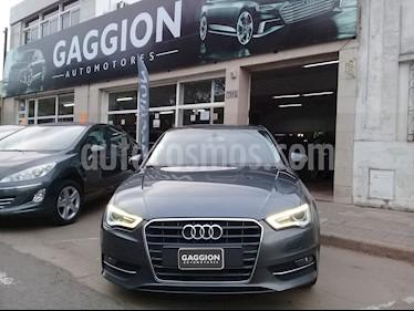 Foto venta Auto usado Audi A3 Sportback 1.4 T FSI (2014) color Gris Monzon