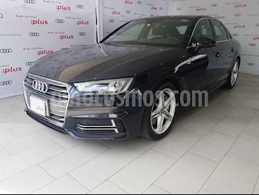 Audi A4 2.0 T S Line (190hp) usado (2017) color Azul precio $490,000