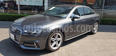 Foto venta Auto usado Audi A4 2.0 T S Line (190hp) (2018) color Gris Quarzo precio $599,000