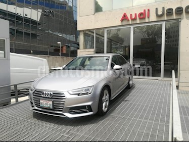 Foto venta Auto usado Audi A4 2.0 T S Line (190hp) (2018) color Plata precio $535,000