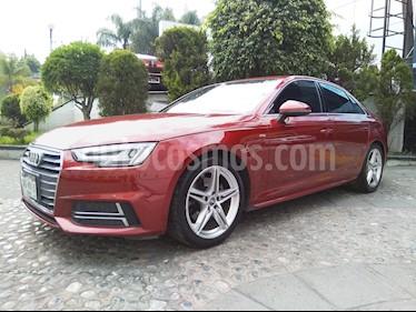 Foto venta Auto Seminuevo Audi A4 2.0 T S Line (190hp) (2017) color Rojo Granate precio $460,000