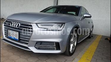 Audi A4 2.0 T S Line Quattro (252hp) usado (2017) color Plata Hielo precio $449,900