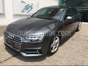 Foto venta Auto usado Audi A4 2.0 T S Line Quattro (252hp) (2017) color Gris Meteoro precio $488,500