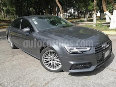 Foto venta Auto usado Audi A4 4p S Line L4/2.0/T Aut (2017) color Gris precio $445,000