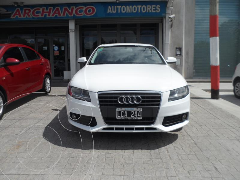 Audi A4 1.8 T FSI Attraction Multitronic  usado (2012) color Blanco Ibis precio $1.750.000