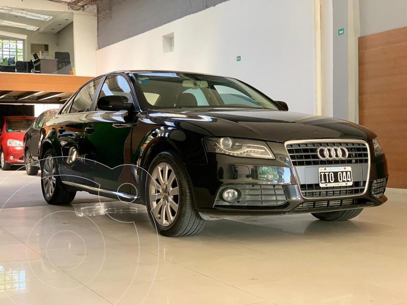 Audi A4 2.0 T FSI usado (2010) color Negro precio u$s12.500