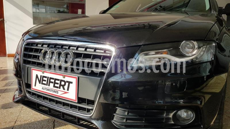 Audi A4 2.0 TDi Ambition Multitronic (143Cv) usado (2012) color Negro precio $195.000