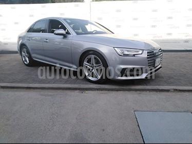 Audi A4 2.0 T S Line (190hp) usado (2018) color Plata precio $449,000