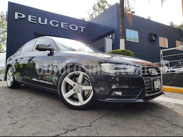 Audi A4 4p Luxury L4/2.0/T Aut usado (2014) color Cafe precio $267,900