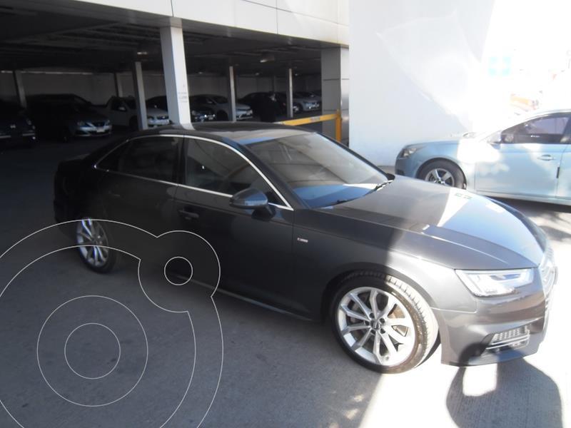 Audi A4 2.0 T S Line Quattro (252hp) usado (2018) color Granito precio $539,000