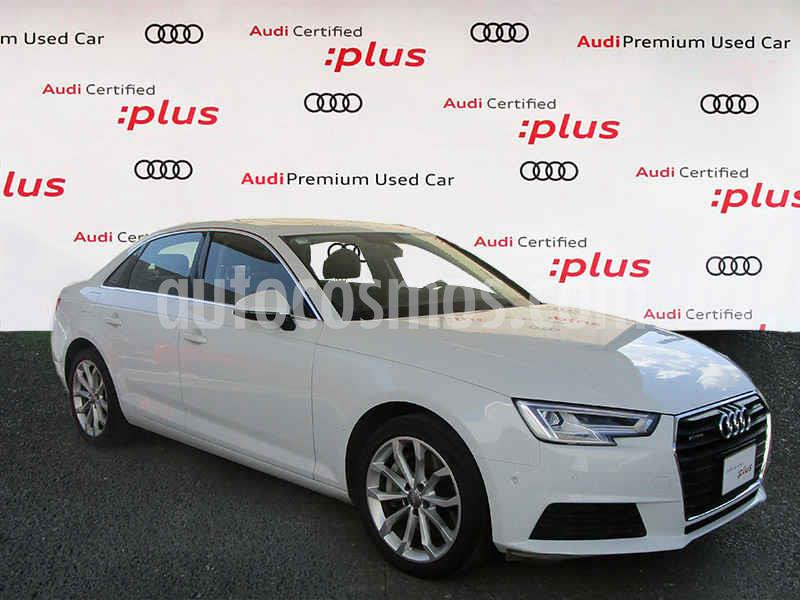 Audi A4 2.0 T Select Quattro (252hp) usado (2017) color Blanco precio $480,000