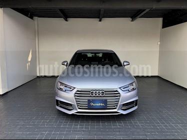 Audi A4 2.0 T S Line Quattro (252hp) usado (2018) color Plata precio $475,000