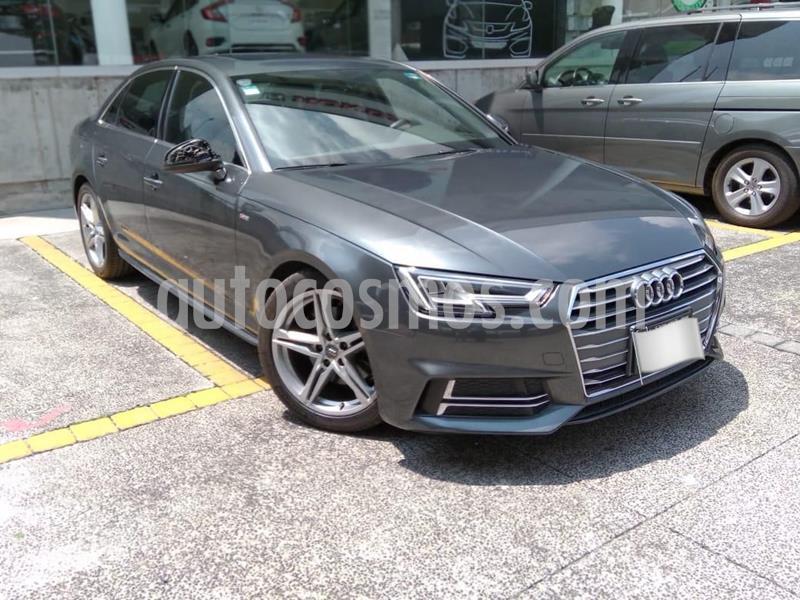 Audi A4 2.0 T S Line (190hp) usado (2017) color Gris precio $409,000