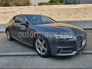 Audi A4 2.0L T S Line Sport (200hp) usado (2017) color Gris precio $407,999