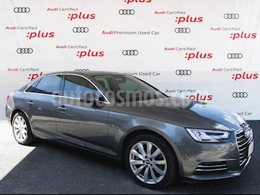 Audi A4 4p Elite L4/2.0/T Aut Quattro usado (2017) color Gris precio $535,000