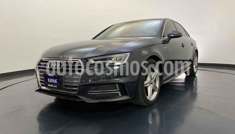 Audi A4 2.0 T S Line Quattro (252hp) usado (2018) color Negro precio $522,999