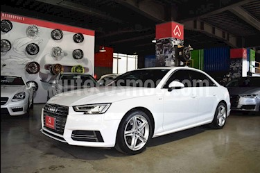 Audi A4 2.0 T S Line Quattro (252hp) usado (2017) color Blanco precio $480,000