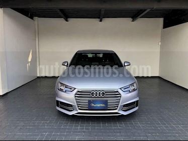 Audi A4 4p S Line L4/2.0/T Aut usado (2018) color Plata precio $482,000