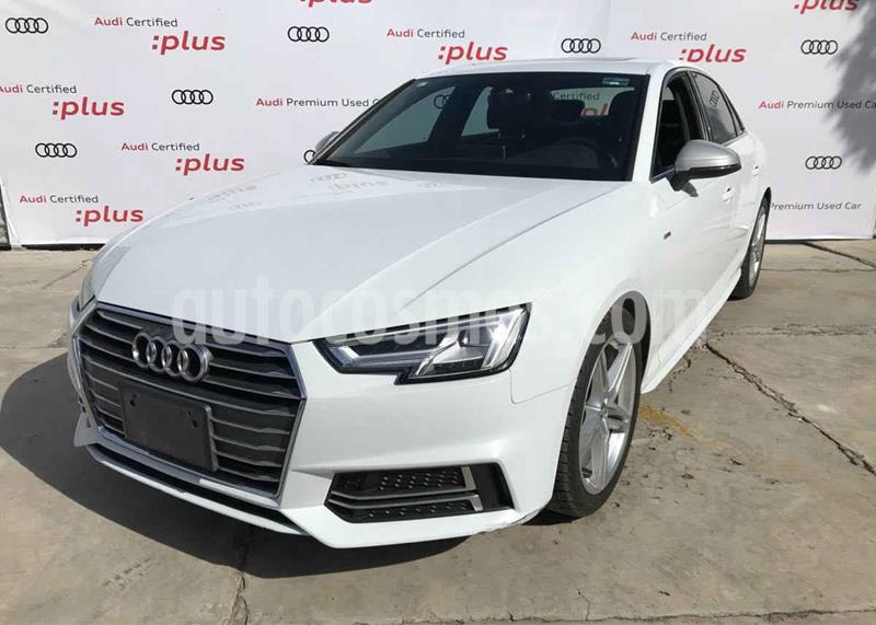 Audi A4 2.0 T S Line (190hp) usado (2017) color Blanco precio $410,000