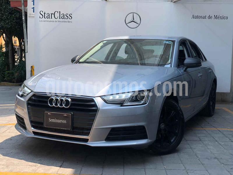 Audi A4 2.0 T Dynamic (190hp) usado (2017) color Plata precio $375,000
