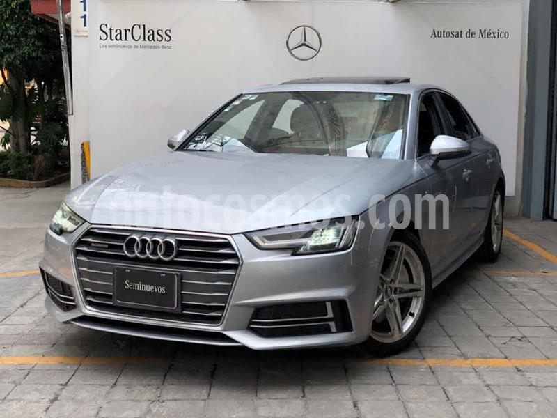 Audi A4 2.0 T S Line (190hp) usado (2017) color Plata precio $495,000